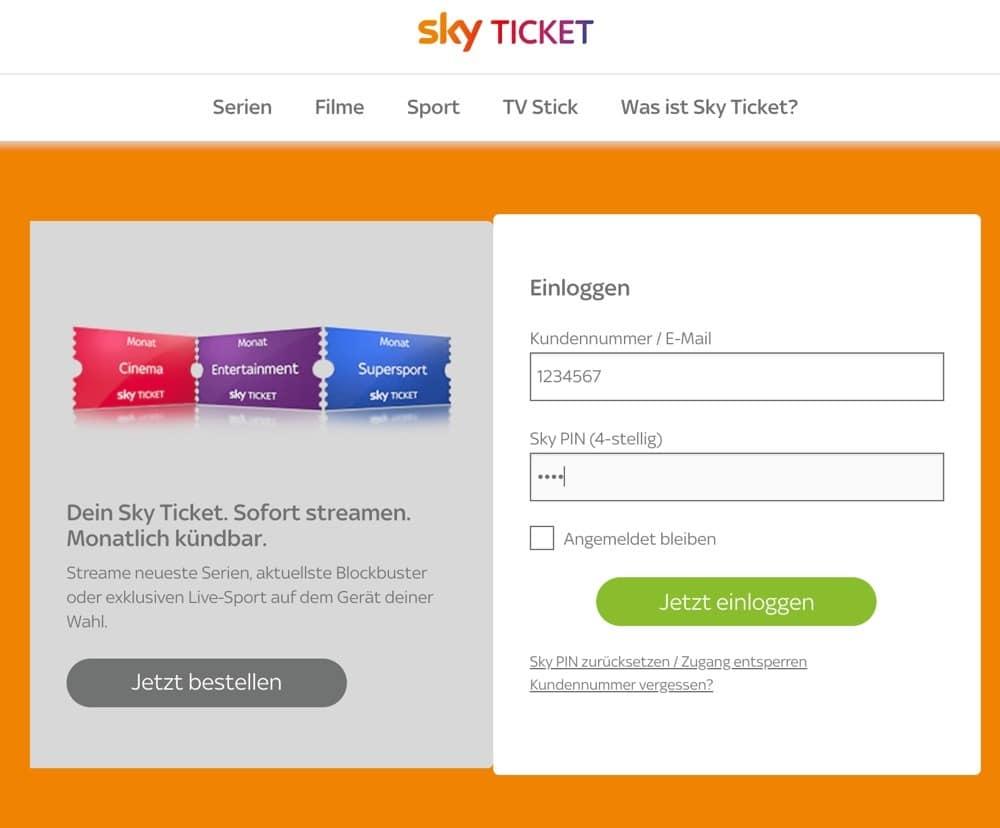 Sky Ticket Kundigen Monatsticket Online Per E Mail Telefon Kundigen