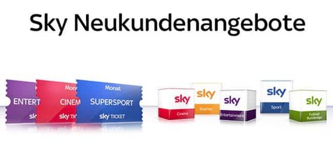 Sky Angebote Für Neukunden Die Besten Neukundenangebote