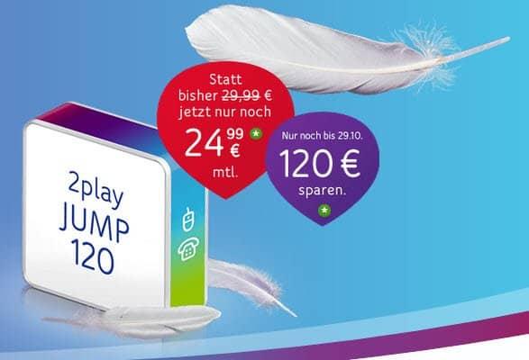 Unitymedia 2play Jump 150 Kabel-Tarif mit Internet und Festnetz
