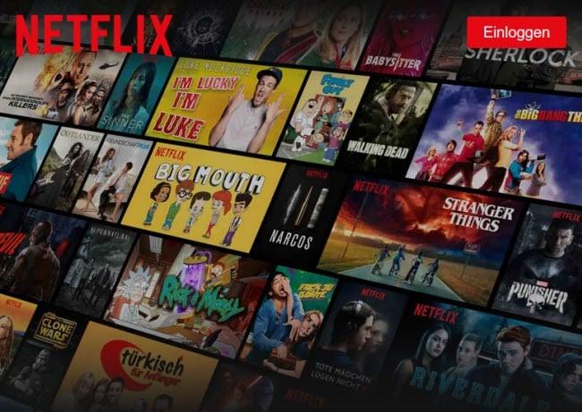 Netflix Streaming Serien Und Filme überall Streamen