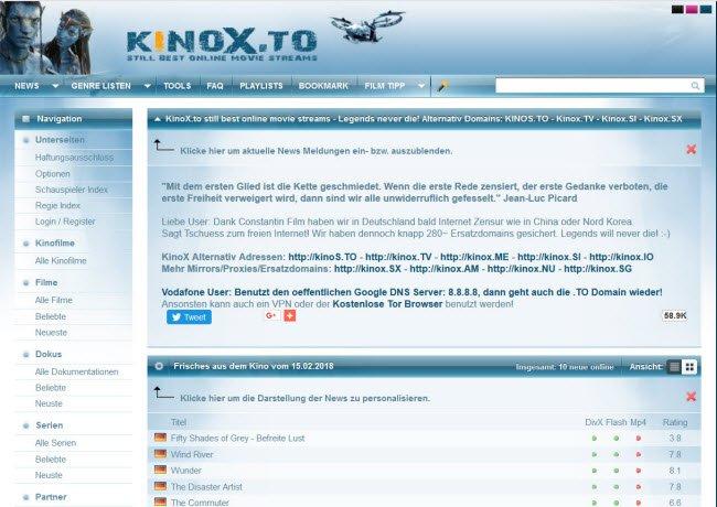 Kinox Alternative